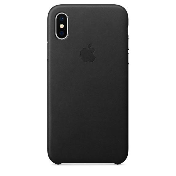 Apple Silicone Case iPhone X שחור