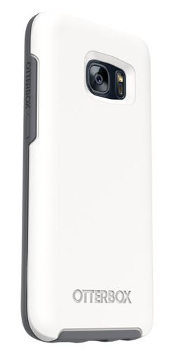 OtterBox Case Galaxy S7 לבןאפור