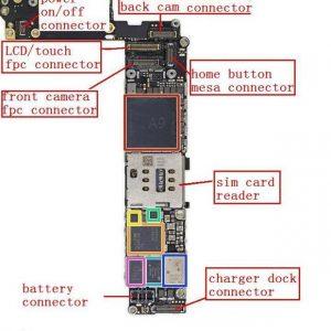 תיקון רכיב טעינה U2 iPhone 6