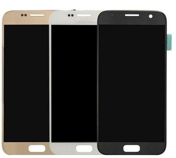 החלפת מסך Galaxy S7 G930F כסוף