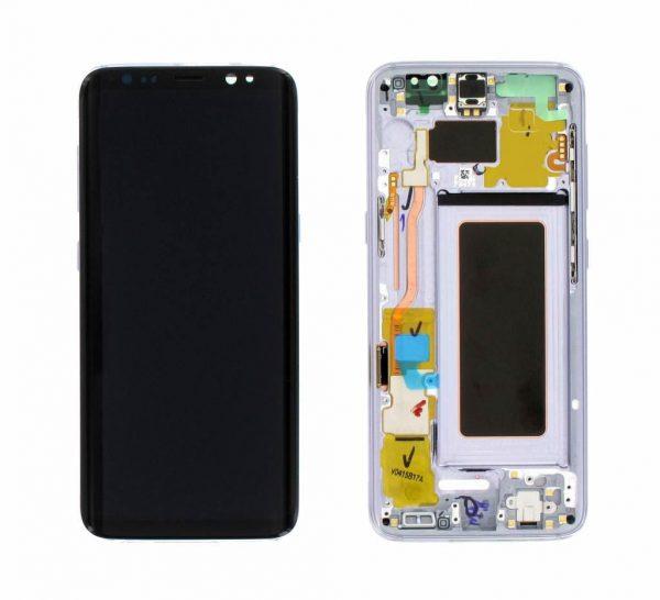 החלפת מסך Galaxy S8 G950F שחור
