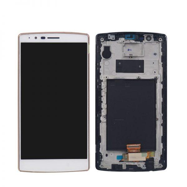 החלפת מסך LG G4 H815 לבן
