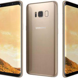 מכשיר Samsung Galaxy S8 64GB זהב יד 2