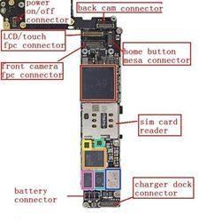 תיקון רכיב אודיו iPhone 6