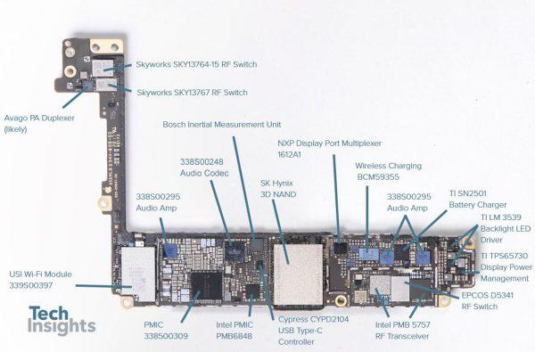תיקון רכיב אודיו אייפון 8