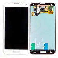 החלפת מסך Galaxy S5 G900F לבן